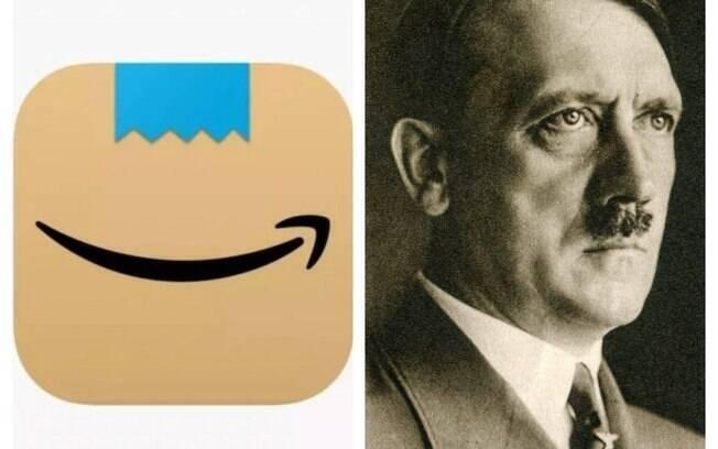 Logo da Amazon foi comparado com bigode de Hitler