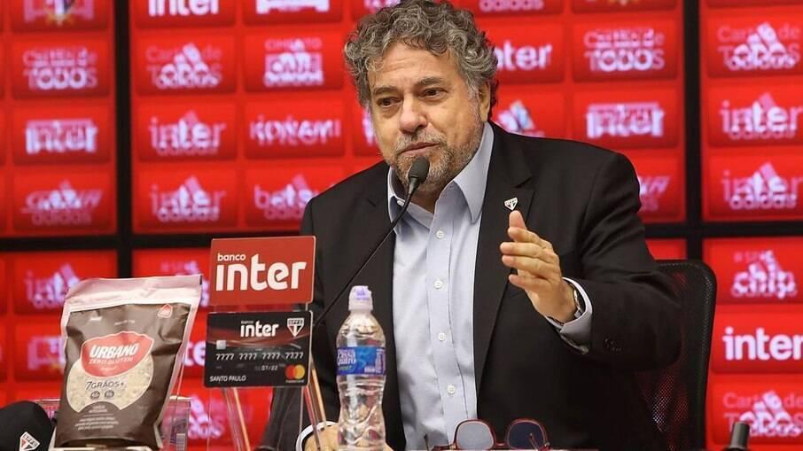 Júlio Casares, presidente do São Paulo