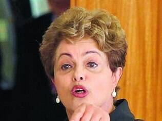 Dilma Rousseff reapareceu na sexta-feira com ataques ao PSDB