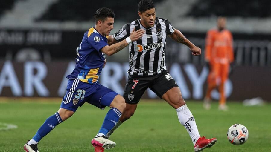 Atlético-MG eliminou o Boca Juniors na Libertadores
