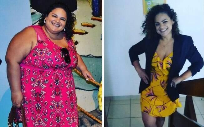 Milla Almeida decidiu emagrecer para ter mais qualidade de vida: