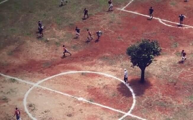 O famoso campo da árvore, em São Paulo
