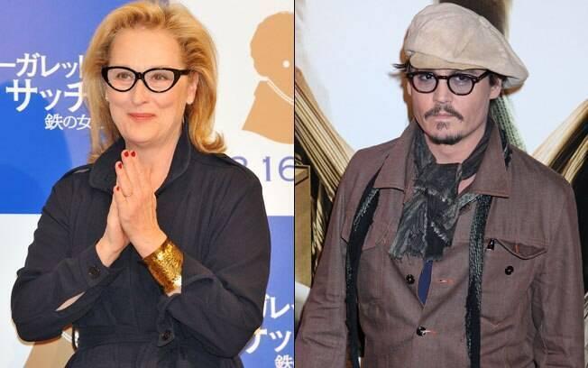 Meryl Streep e Johnny Depp