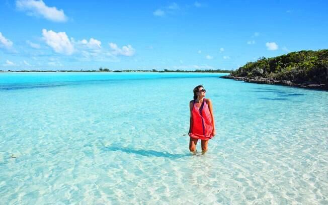 Lala Rebelo fala quais são as melhores atrações de Exuma, nas Bahamas