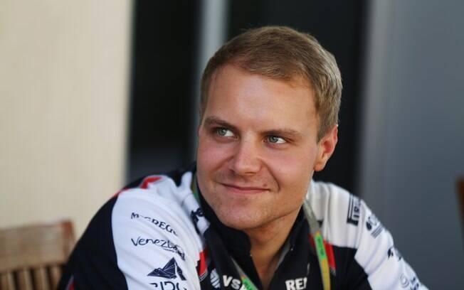 Williams - Valtteri Bottas - era piloto  reserva e assume a vaga de titular que era de  Bruno Senna em 2012