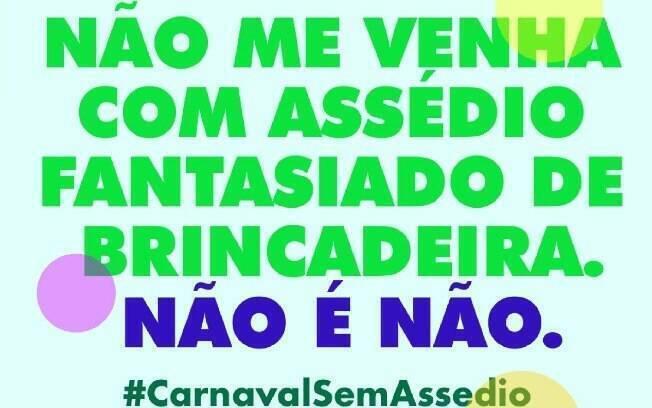 campanha assedio carnaval