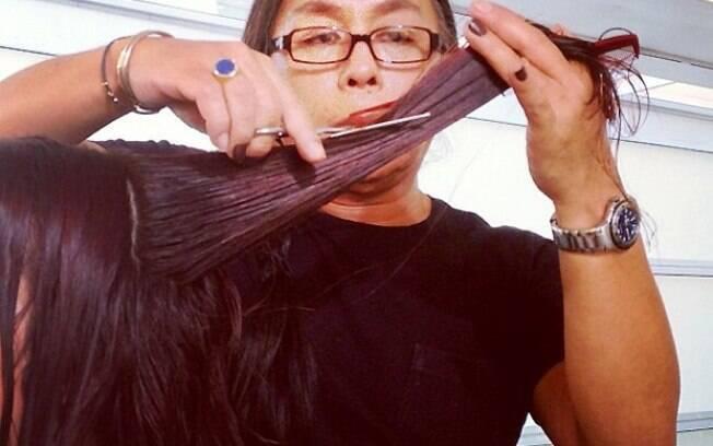 Larissa Maciel se transforma em Sati pelas mãos de Celso Kamura