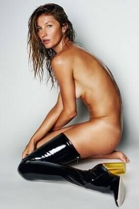 56b4b74858688 Gisele é uma das estrelas da 95ª edição da Vogue Paris. Foto  Reprodução