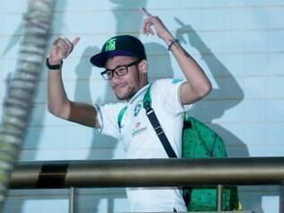 Neymar chega ao Ouro Minas