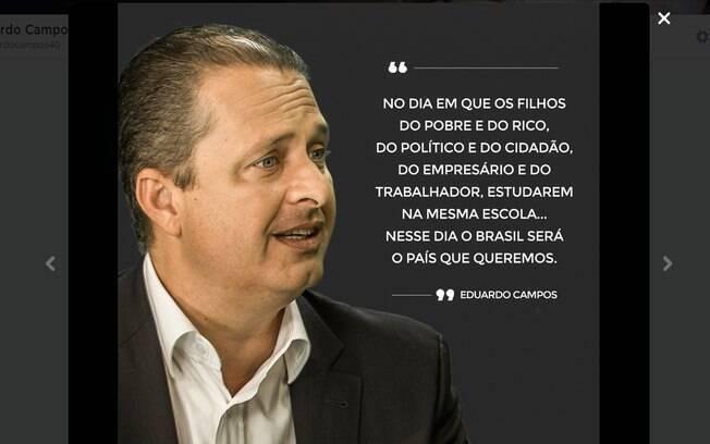 10 Frases Que Marcaram A Campanha De Eduardo Campos Política Ig