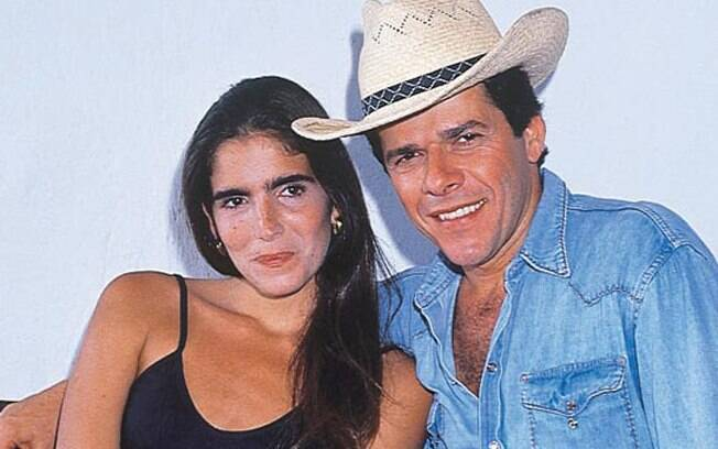 Cláudia (Malu Mader) e Fernando (José Mayer) em
