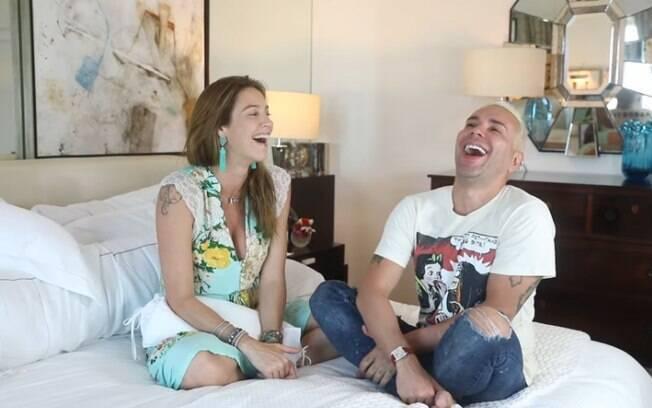 Luana Piovani e Matheus Mazzafera
