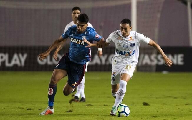 Santos e Flamengo empataram no primeiro turno em 1 a 1 e a nove rodadas do fim do Brasileirão tem objetivos diferentes