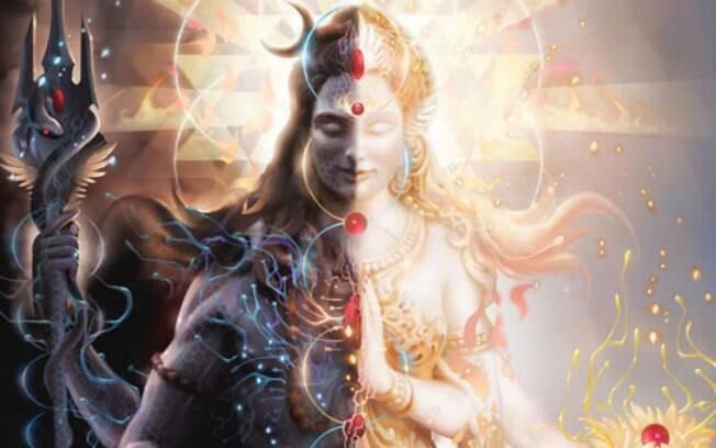 A união entre Shiva e Shákti