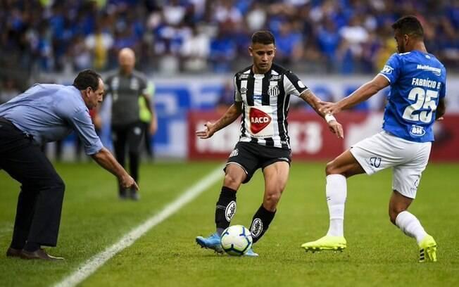 Rogério Ceni fez sua estreia no Cruzeiro