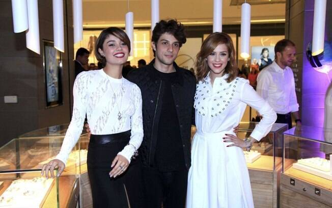 Sophie Charlotte, Chay e Sophia Abrahão participaram de evento em São Paulo