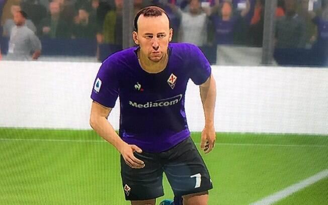 Avatar de Ribéry no Fifa 20. Francês não gostou muito