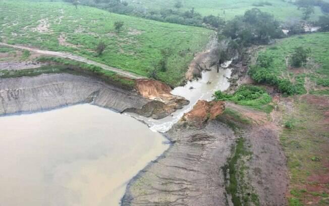 Barragem do Quati se rompeu na última quinta-feira (11)