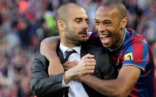 Thierry Henry rasga elogios a Pep Guardiola