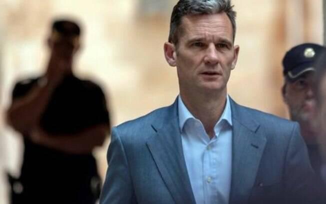 Esta é a primeira vez na história que um parente de um rei da Espanha vai para a prisão