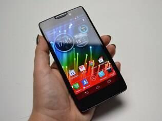 Razr HD, o primeiro smartphone 4G a chegar ao Brasil