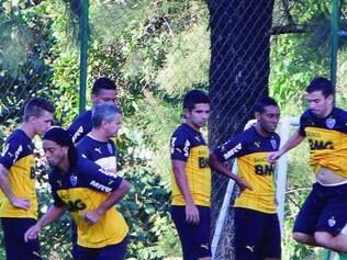 Preparação. Ronaldinho, Guilherme e Donizete serão fundamentais nesta quinta-feira contra o Santa Fe