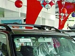 Venda de veículos teve queda de 16,6%. segundo IBGE