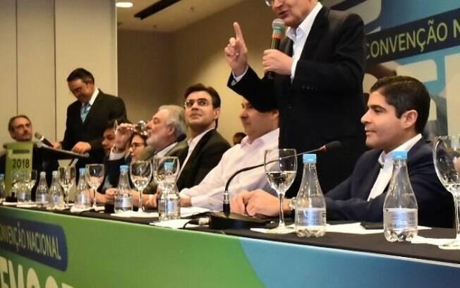DEM oficializa apoio à candidatura de Geraldo Alckmin em convenção nesta quinta-feira