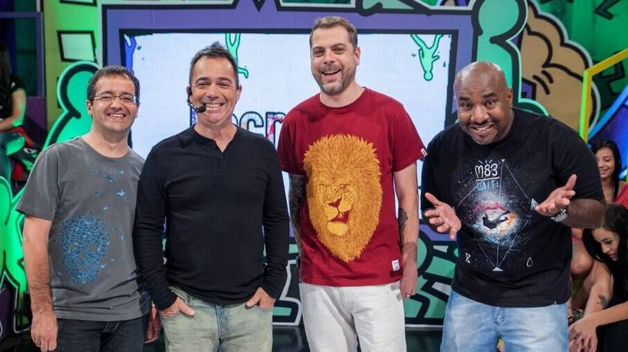 Os antigos apresentadores do 'Encrenca'