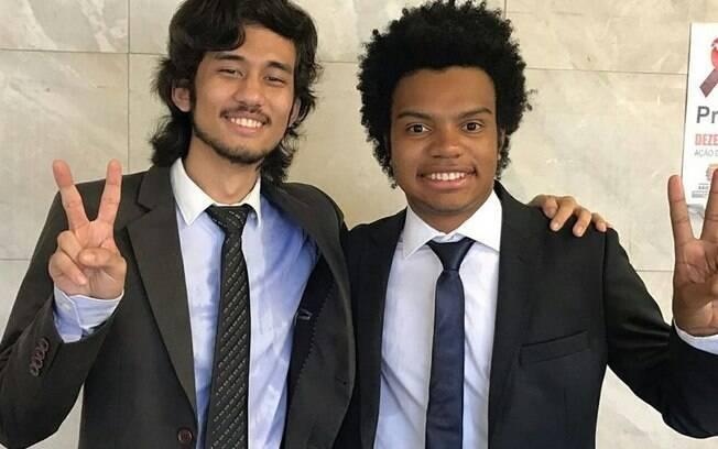 Kim Kataguiri e Fernando Holiday são amigos do Movimento Brasil Livre. Holiday foi o vereador mais novo e ser eleito