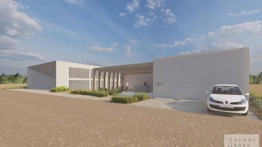 Projeto arquitetônico do novo centro beneficente da ONG Love Together Brasil
