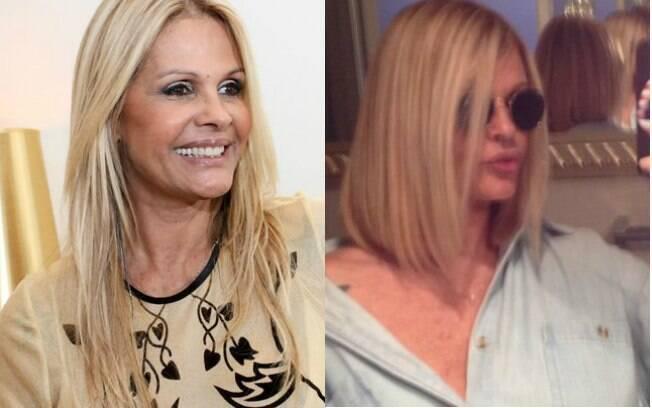 Monique Evans mudou o corte e exibiu cabelo estiloso no Instagram