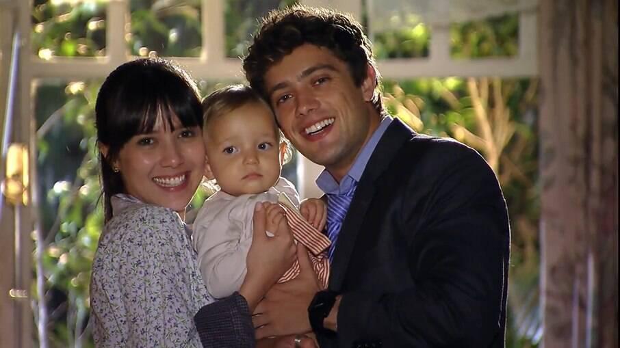 Rodrigo vai morar com Iná e Manu