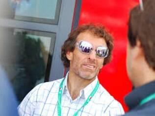 Andrea de Cesaris cumulou cinco pódios na elite máxima da velocidade