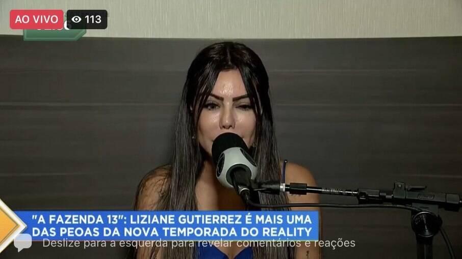 Liziane Gutierrez estará em