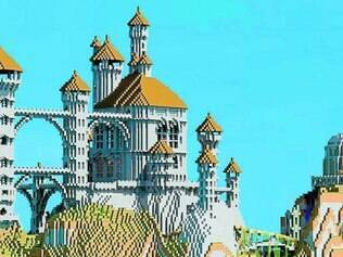 Sucesso. Com liberdade total, usuários criam castelos e até cidades inteiras