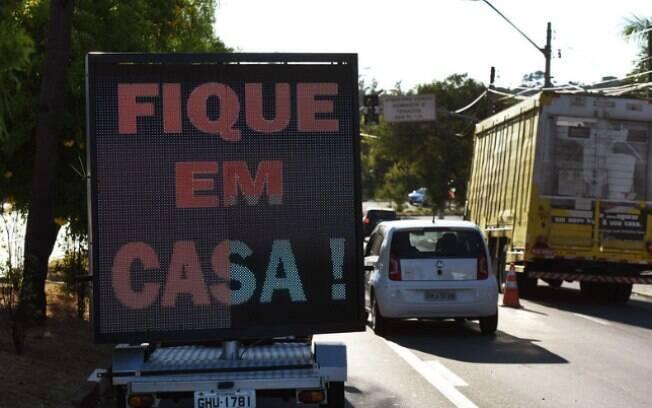 Campanha de conscientização sobre a Covid-19 nas ruas de Campinas