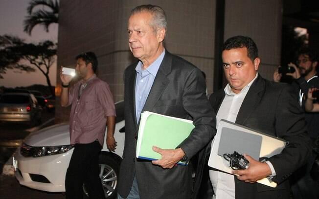 O ex-ministro da Casa Civil: apesar de cumprir pena em casa, ele precisa de autorização para viajar