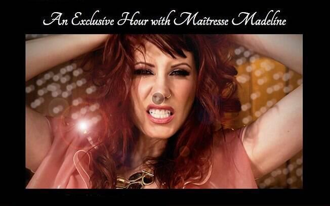 Homem pagou quase R$ 100 mil por show de uma hora com a atriz Maitresse Madeline