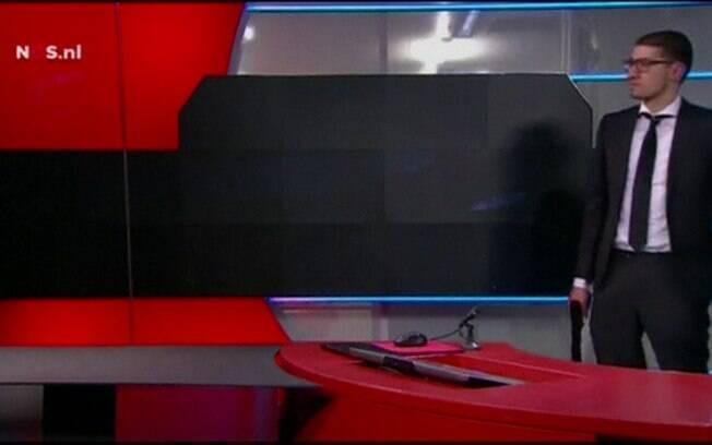 A invasão fez com que os principais telejornais da emissora fossem cancelados
