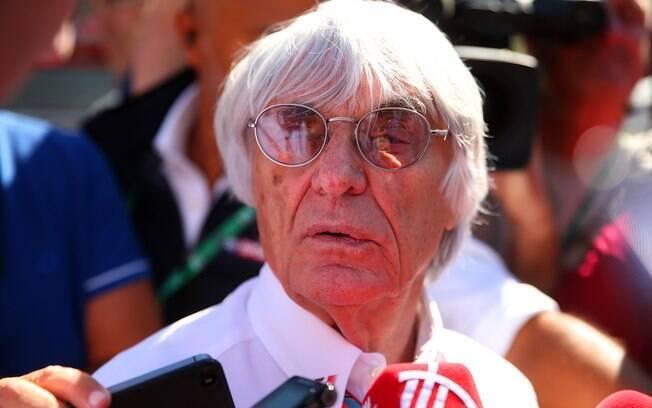 Bernie Ecclestone, ex-chefe da F1