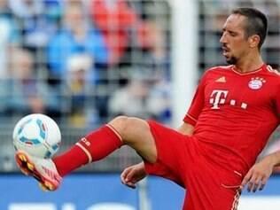 Apesar de ser o craque do Bayern, Ribéry não faz tanta falta pelo elenco espetacular dos Bávaros