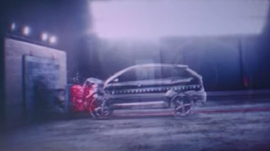 Progetto Fiat 363: silhueta do novo SUV aparece em teste de colisão antes do lançamento, no segundo semestre
