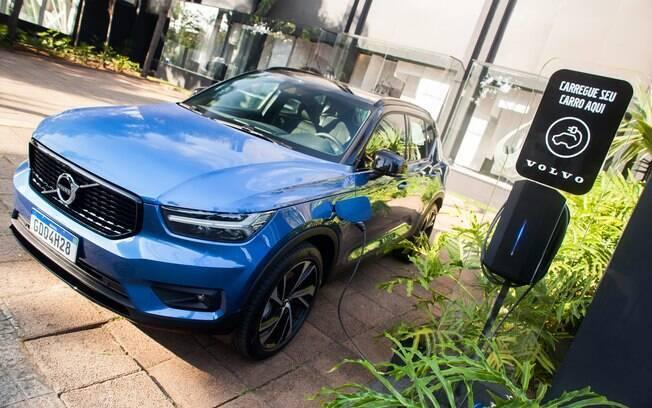 Volvo XC40 Plug-in Hybrid foi lançado em 2020 para revolucionar a linha da marca sueca no Brasil