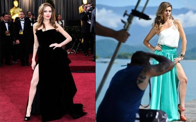 Angelina Jolie e Fernanda Lima