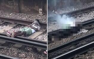 Homem é acordado, tropeça e morre eletrocutado em trilhos de trem em Londres