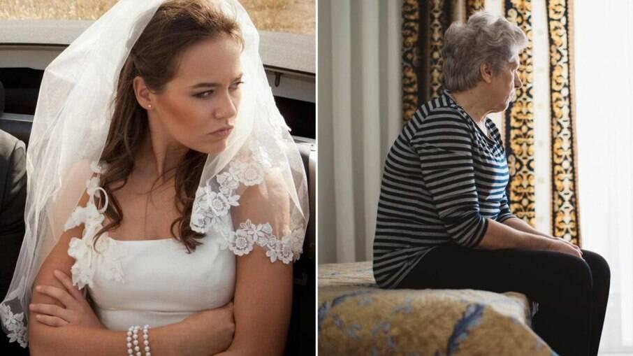 Noiva baniu a própria mãe de ir ao seu casamento por ela querer vestir calças