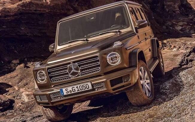 Mercedes-Benz Classe G: estilo parrudo pouco mudou na linha 2019, mantendo a tradição em quase 40 anos de história