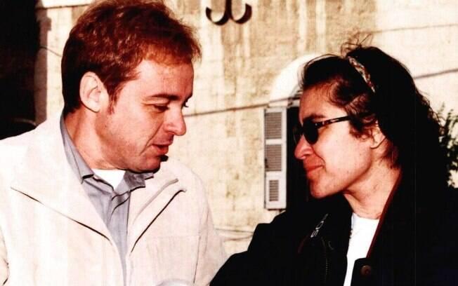 Esther Rocha e Gugu Liberato