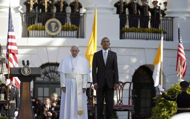 Papa Francisco e Barack Obama